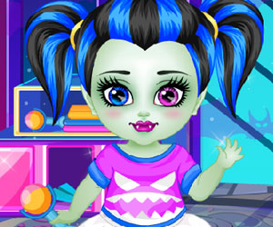 Baby Monster High Shower Fun