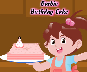 SUPER GRA: Barbie Birthday Cake
