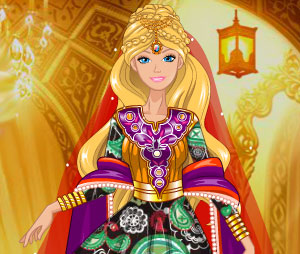 Barbies Salwar Dress Up