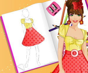 SUPER GRA: Fashion Studio: Moda Retro