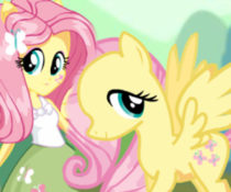 My Little Pony Fluttershy DressUp