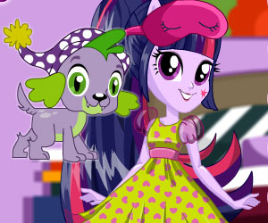 SUPER GRA: MLP EG Twilight Sparkle Pajama Party