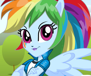SUPER GRA: MLP: Equestria Girls: Rainbow Dash