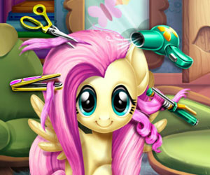 MLP: Fluttershy Real Haircut