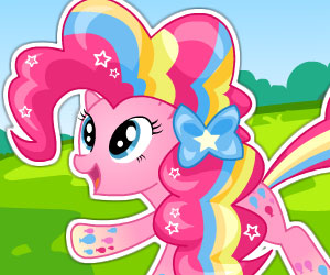SUPER GRA: MLP Pinkie Pie Rainbow Power Style