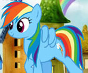 SUPER GRA: MLP: Rainbow Dash Sprint