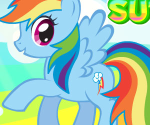 SUPER GRA: MLP: Rainbow Dash Super Style