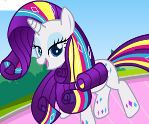SUPER GRA: MLP: Rarity Rainbow Power Style