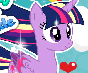 MLP Twilight Rainbow Power Style