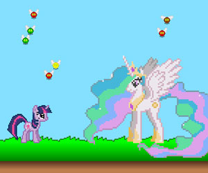 SUPER GRA: MLP: Twilight Sparkle Pest Exterminator