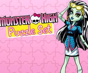 SUPER GRA: Monster High Puzzle