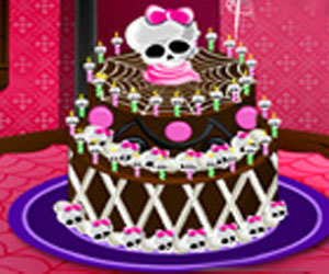 SUPER GRA: Monster High Special Cake
