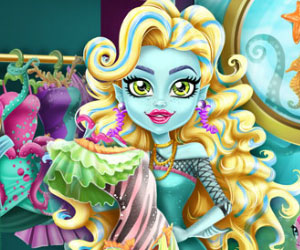 SUPER GRA: Monster High: Szafa Lagoony