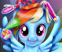 My Little Pony: Fryzura Rainbow Dash