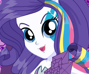 SUPER GRA: My Little Pony: Rainbow Rocks Rarity