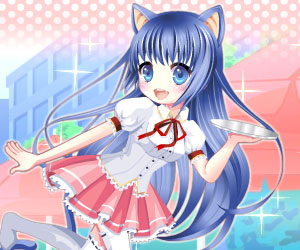 Neko Girl Dress Up – Chu-Chu