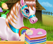 My Little Pony: Rainbow Cake