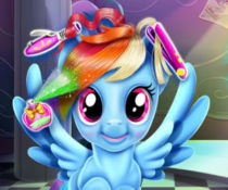 MLP: Rainbow Dash Real Haircut