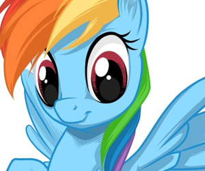 SUPER GRA: Rainbow Pony Dash