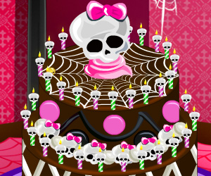 Specjalny Tort Monster High