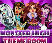 Uczennice Monster High w Akademiku